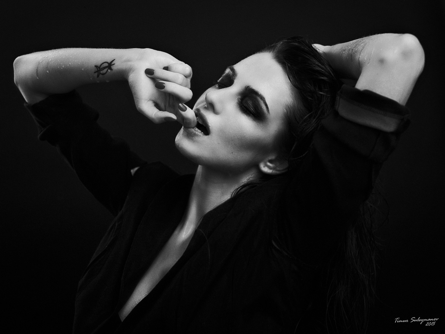 Black and white shoots
