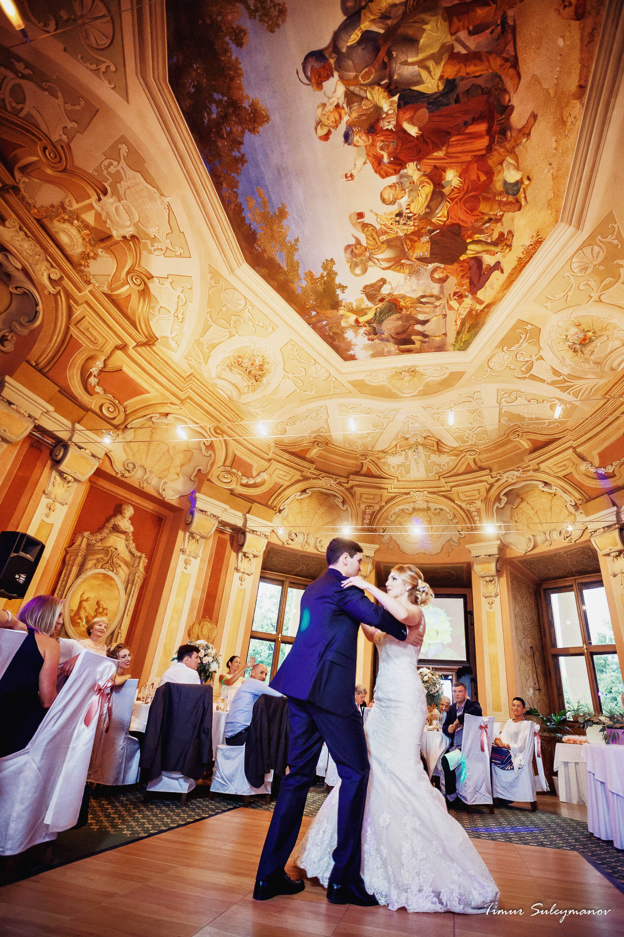 Wedding in the Chateau Liblice