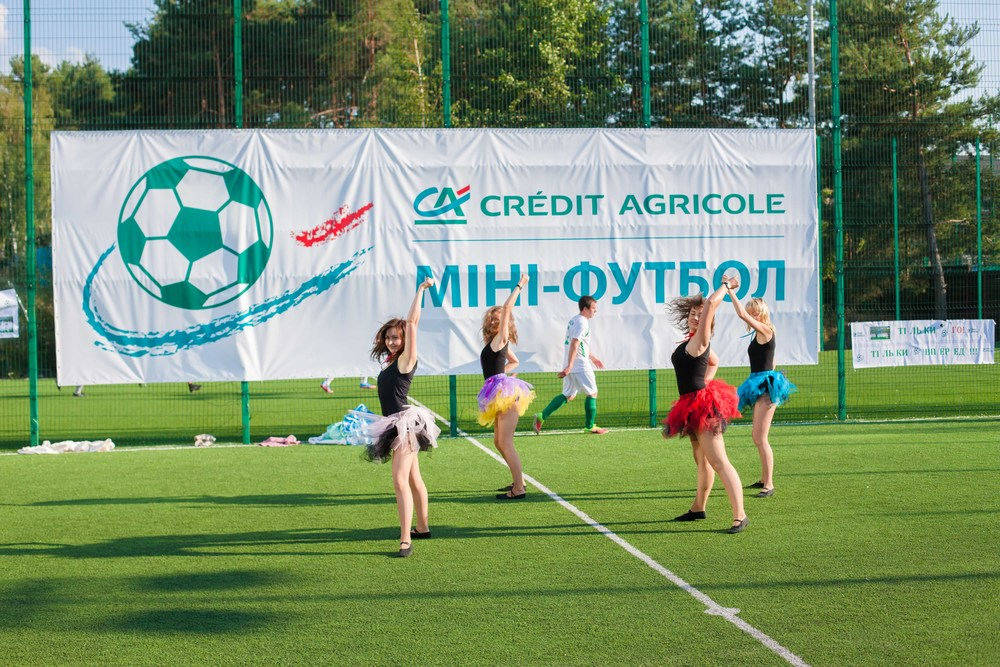 Credit Agricole team building