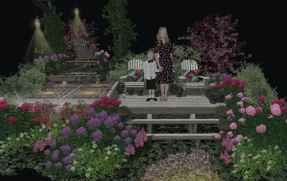 → Moscow Flower Show, 0,025 га, 2018г.