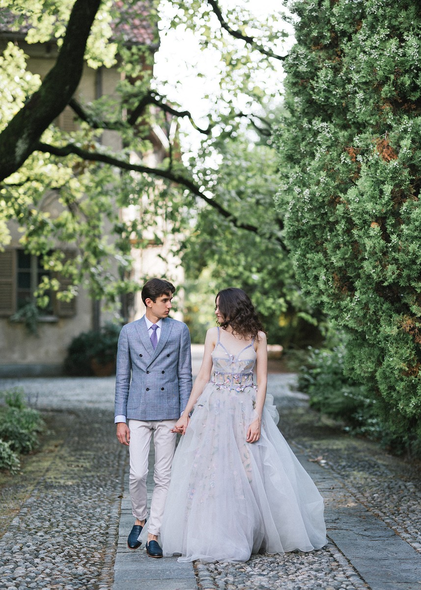 Taras & Yulia, Como wedding for two