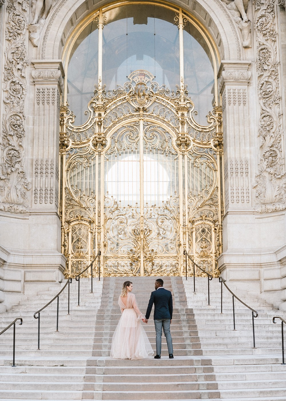 Sophie & Rolly, Paris, Wedding for two