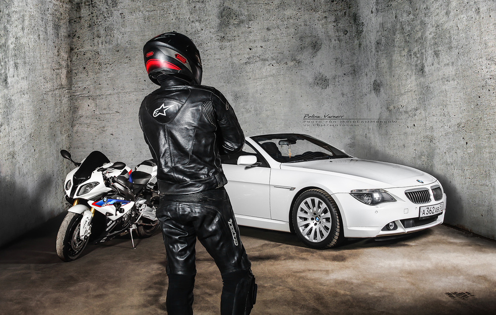 Motorcycles & cars